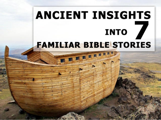 """You've heard, read, and even studied the """"familiar"""" stories of the Bible many times: Adam and Eve, the Flood, Jonah and th..."""