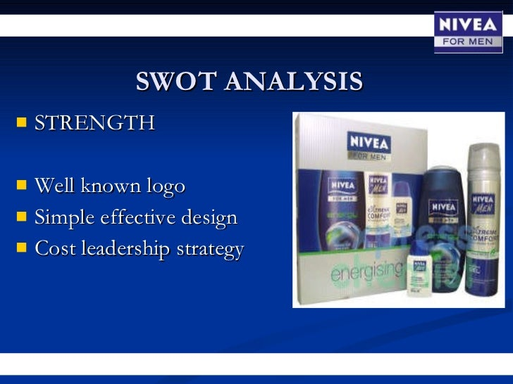 strengths and weakness on nivea Weaknesses 1 nivea faced criticism over ad campaigns which were termed as  racist by a few people 2 intense competition in skincare segment opportunities.