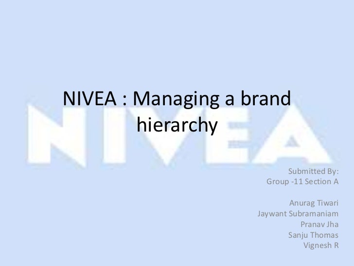NIVEA - Managing an Umbrella Brand: Case Study Answers
