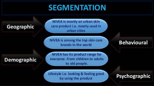 Nivea segmentation
