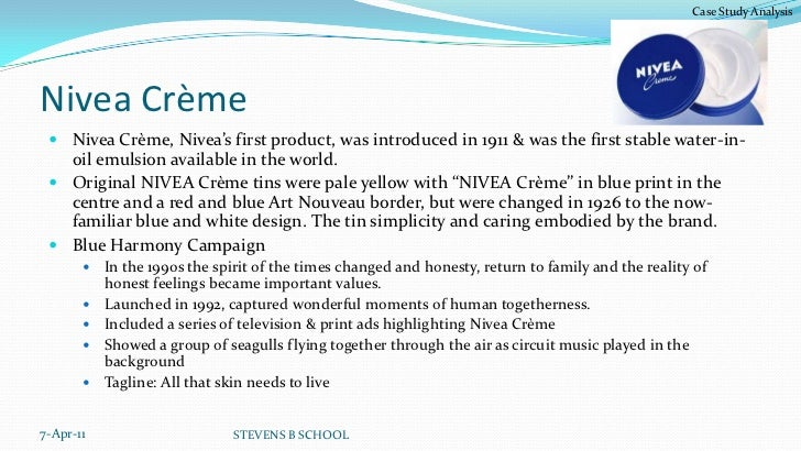 nivea weaknesses Wwwthetimes100coukdeveloping a marketing planintroductionthe nivea® brand is one of the most look at the internal strengths and weaknesses of the.