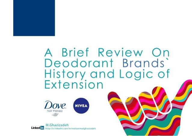 Nivea and Dove history and brand extension logics، توسعه محصولات نیوآ و داو