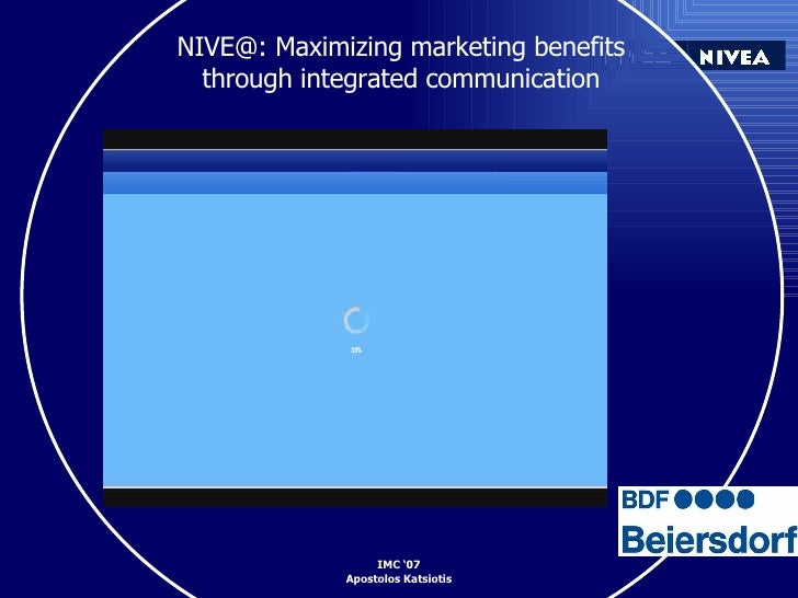 NIVE@: Maximizing marketing benefits  through integrated communication