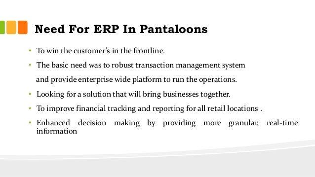 erp in big bazaar Its the project report on erp implementation in big bazaar advertisements.