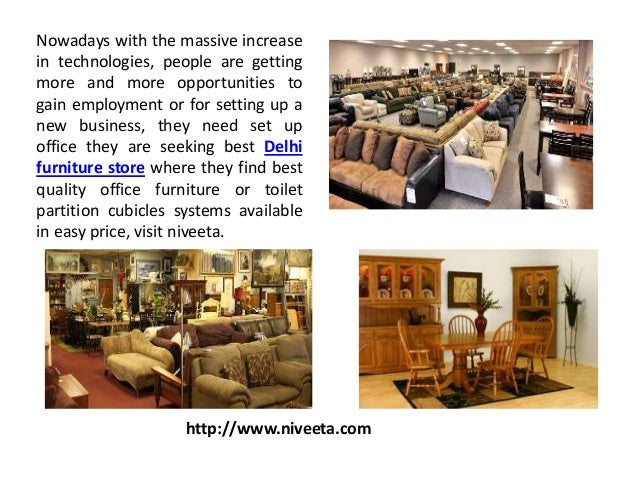 Niveeta Furniture Store For Toilet Partition Modular Workstation Supplier In Delhi NCR Nowadays With The Massive Increase Technologies