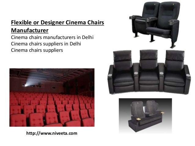 Manufactures Aluminium Skirting Niveeta 3 Flexible Or Designer Cinema Chairs Manufacturer Manufacturers In Delhi