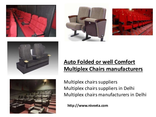 Delhi Cinema Chairs Suppliers Niveeta 4 Auto Folded Or Well Comfort Multiplex Manufacturers