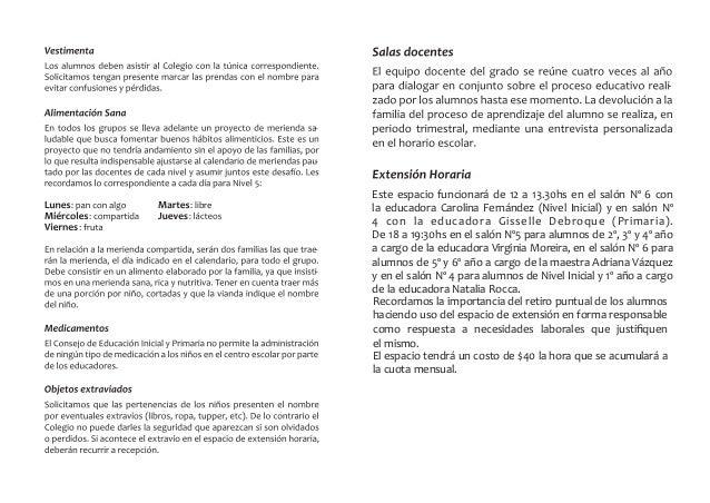 Acuerdos de NIVEL INICIAL Y PRIMARIA en el Área de Conocimiento de Lenguas: Se busca a través de actividades lúdicas orale...
