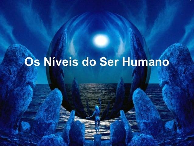 Os Níveis do Ser Humano