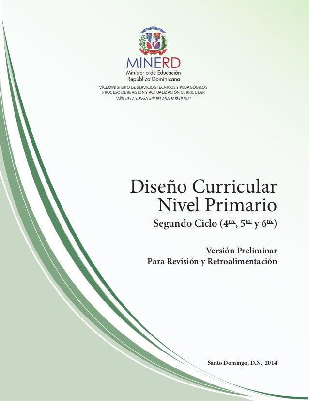 Diseno curricular nivel primario 2do ciclo for Diseno curricular nacional 2016 pdf