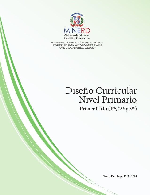 Nivel primario primer ciclo for Diseno curricular para el nivel inicial