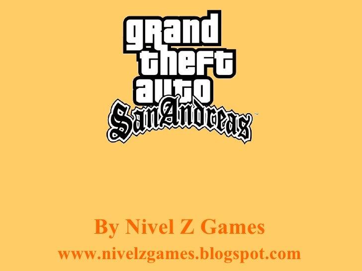 By Nivel Z Games www.nivelzgames.blogspot.com