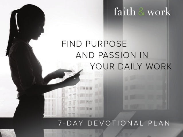 Day 1: Love Day 2: Cultural Mandate Day 3:  Image of God Day 4:  Glorious Day 5: Justification Day 6: Perseverance D...
