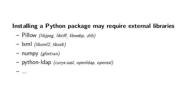 Nix for Python developers