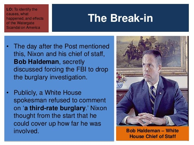 Essay about Watergate Scandal