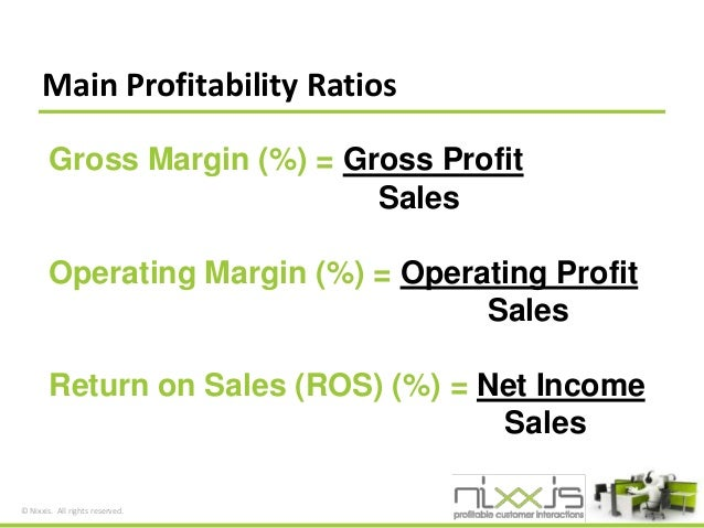 How to calculate and improve the profitability of your