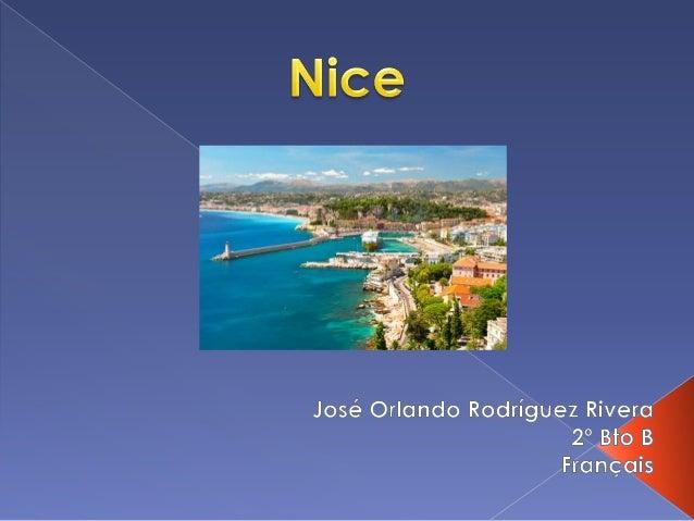 C'est une ville et une comune française située dans la región de Provence-Alpes-Côte d'Azur.  Nice se trouve au sud-est d...