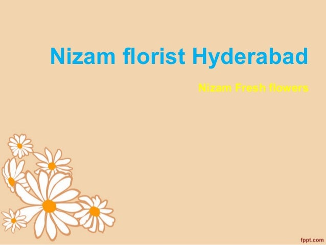 Nizam florist Hyderabad Nizam Fresh flowers