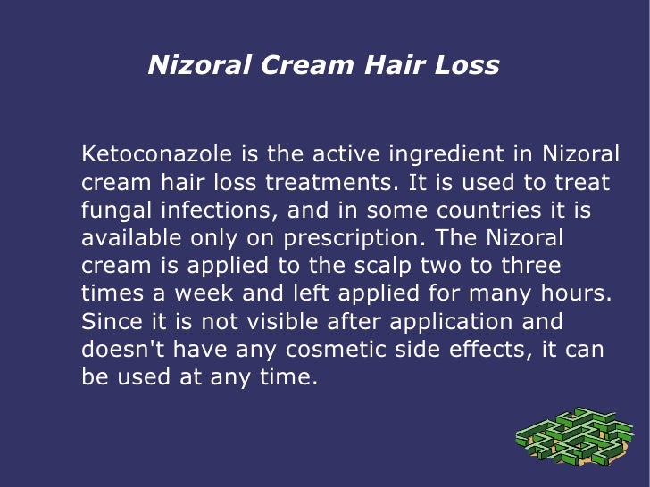 of cream application ketoconazole