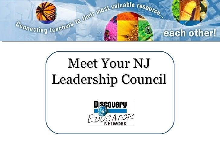 Meet Your NJ Leadership Council
