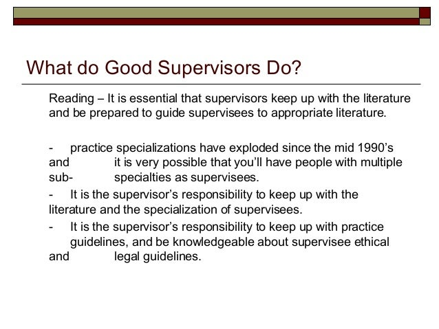 LPC Core Issues in Effective Clinical Supervision