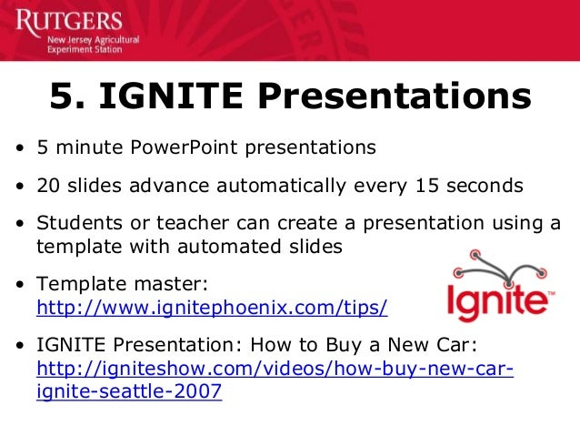 50 creative ways to teach personal finance 11 14 for Rutgers powerpoint template