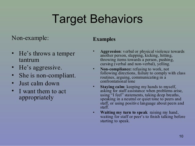 Njea Behavior 2013