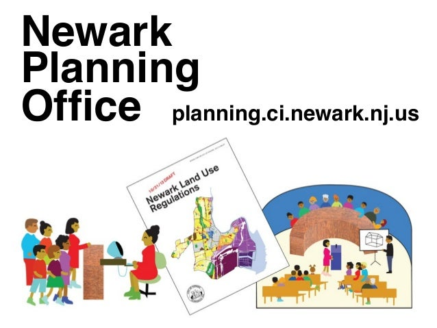 Newark Planning Office planning.ci.newark.nj.us