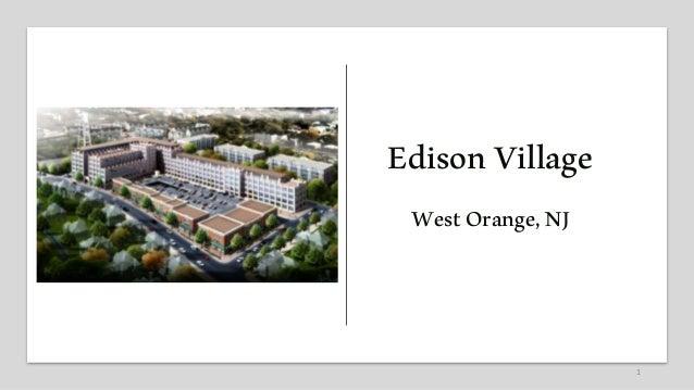 1 EdisonVillage WestOrange,NJ