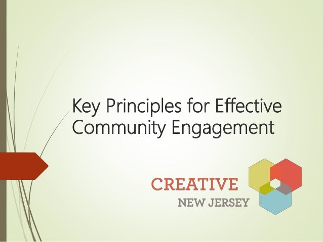 Key Principles for Effective Community Engagement