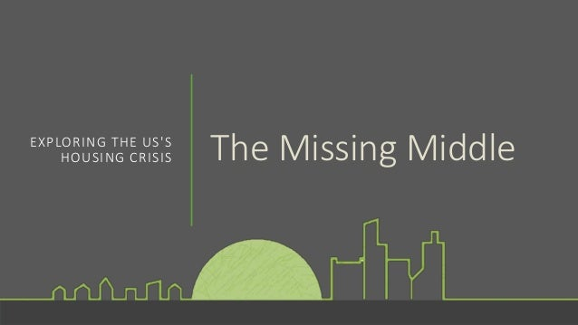 The Missing MiddleEXPLORING THE US'S HOUSING CRISIS