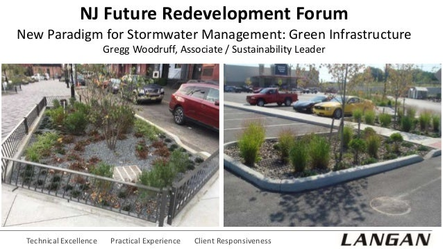 Technical Excellence Practical Experience Client Responsiveness NJ Future Redevelopment Forum New Paradigm for Stormwater ...