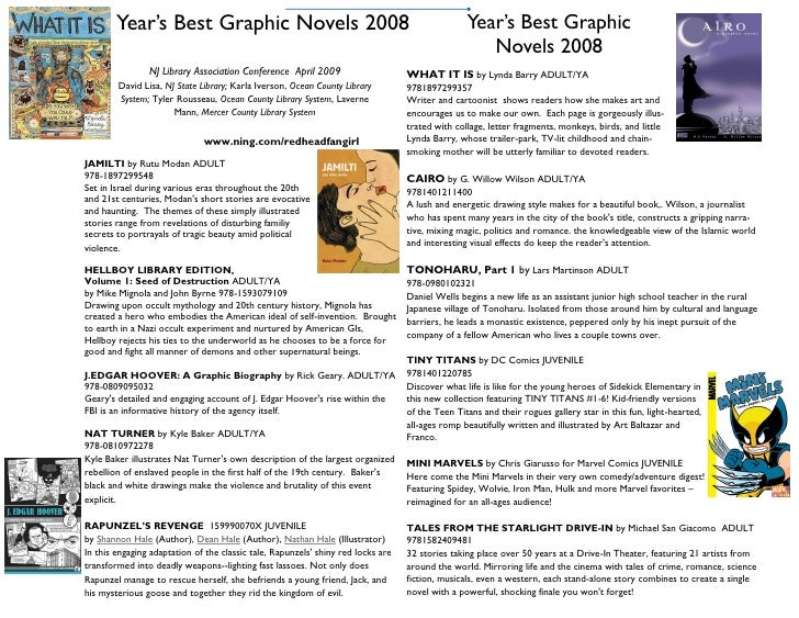 Year's Best Graphic         Year's Best Graphic Novels 2008                                                               ...