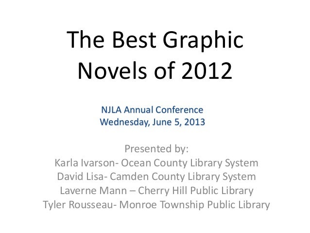 The Best GraphicNovels of 2012Presented by:Karla Ivarson- Ocean County Library SystemDavid Lisa- Camden County Library Sys...