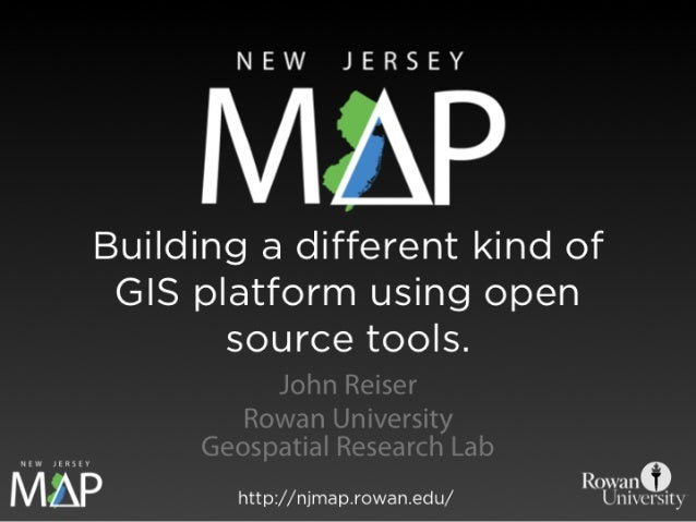 NJ MAP: Building a different kind of GIS platform using open source tools.