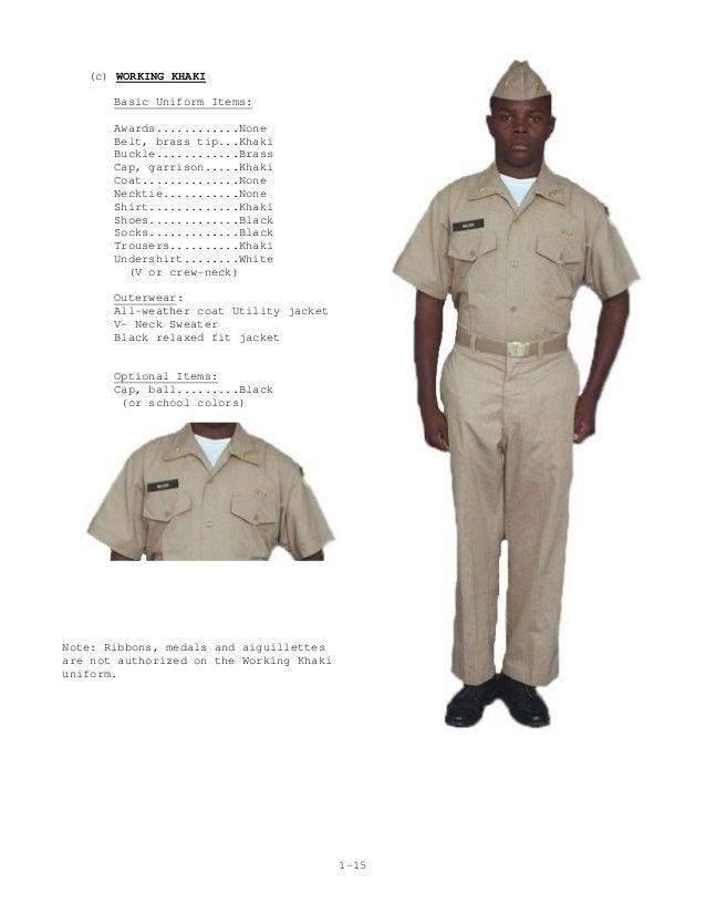 Nrotc Uniform Regulations 74