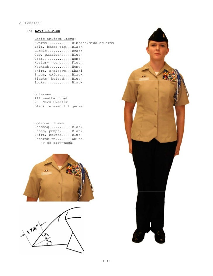Medal placement on dress blue alphas female body