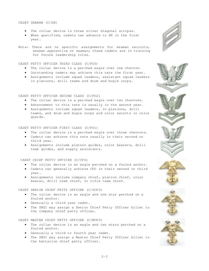 Njrotc Cadet Feild Manual