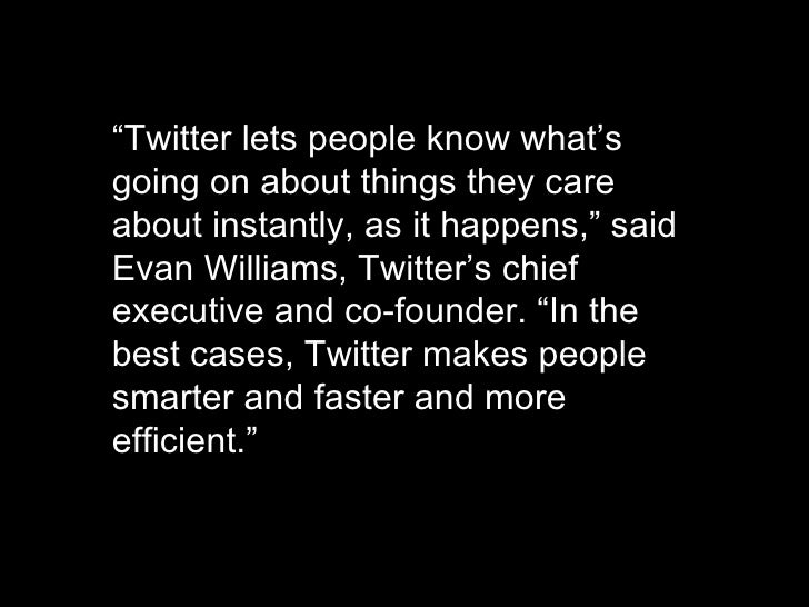 """http://www.flickr.com/photos/radiorover/2787677403/ """" Twitter lets people know what's going on about things they care abou..."""