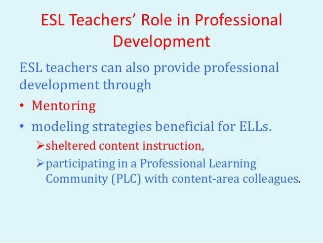 esl teachers role - Esl Teacher Duties