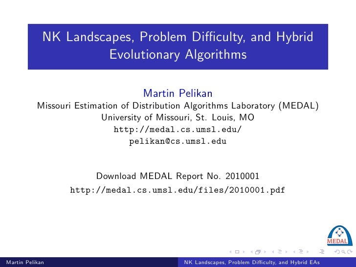 NK Landscapes, Problem Difficulty, and Hybrid Evolutionary Algorithms