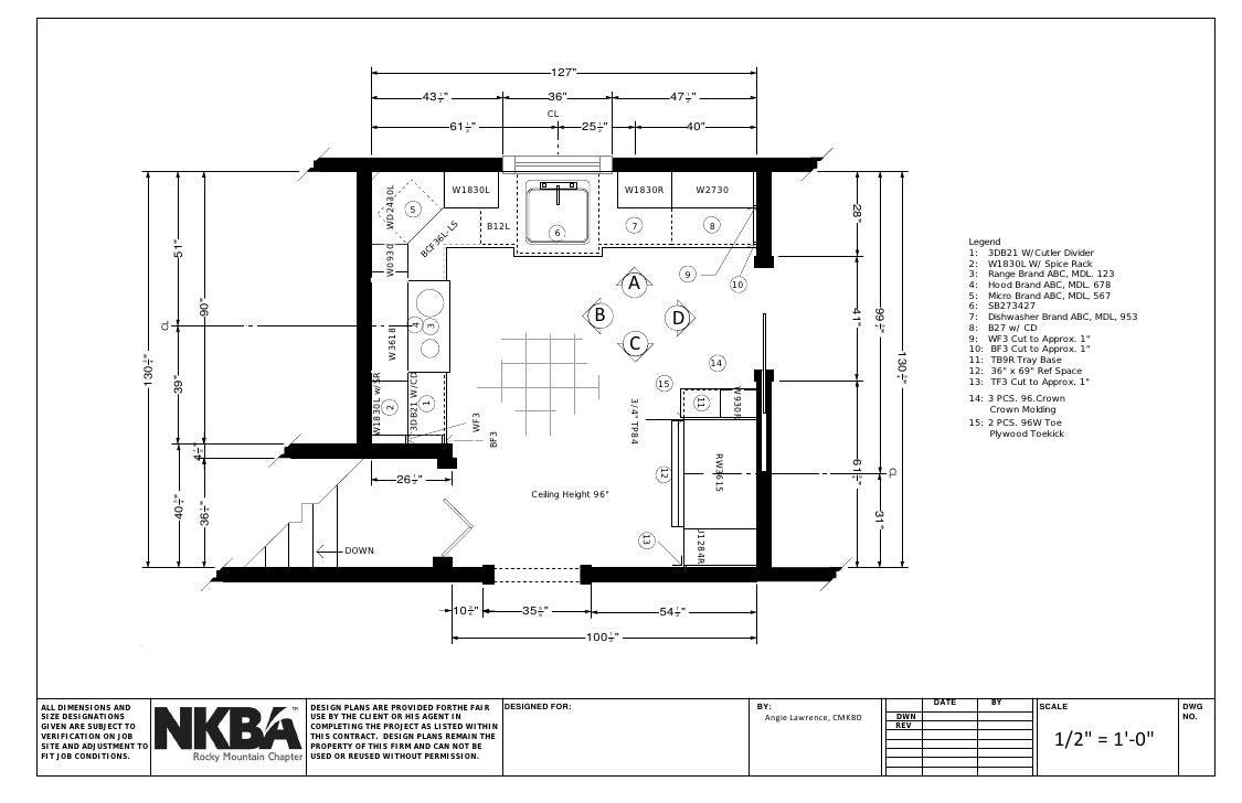 Nkba Graphic Standards Kitchen Set. 127 Part 8