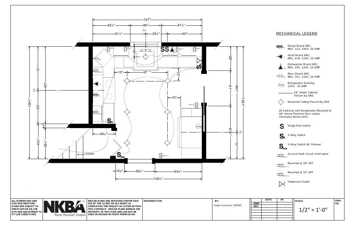 Nkba Graphic Standards Kitchen Set