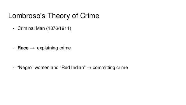 Cesare Lombroso & The Origins of Modern Criminology ...