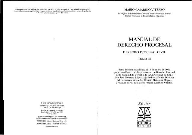 Derecho Procesal Civil III Slide 3