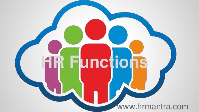 HR Functions www.hrmantra.com