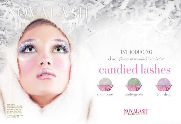 NovaLash Candied Lash Ad