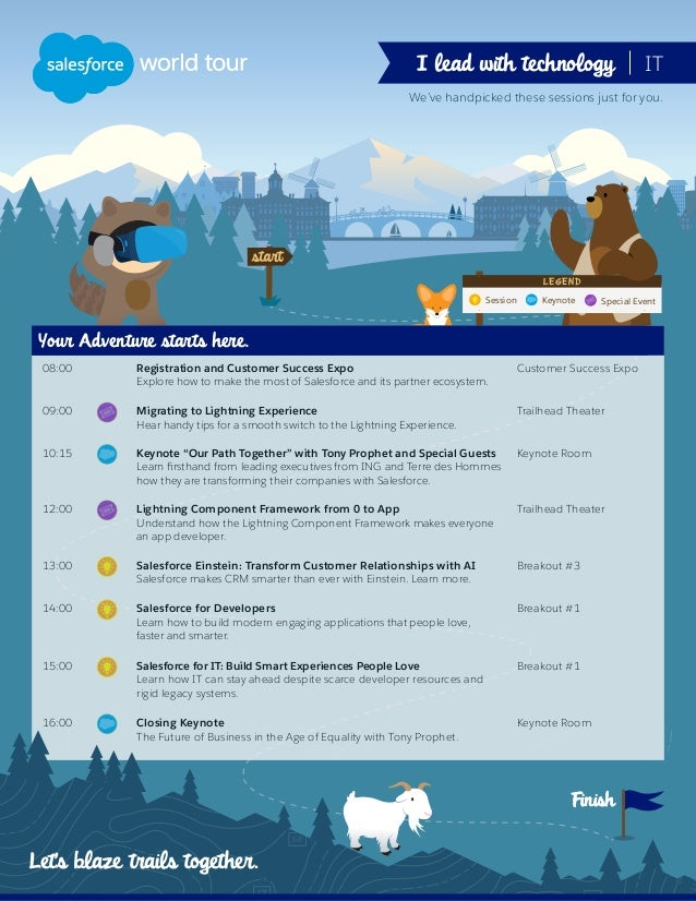 Finish Session LEGEND Keynote Special Event We've handpicked these sessions just for you. Finish 08:00 Registration and Cu...