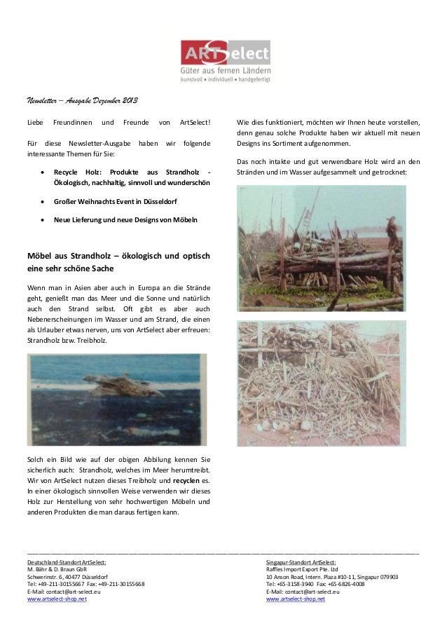 Newsletter – Ausgabe Dezember 2013 Liebe  Freundinnen  und  Freunde  Für diese Newsletter-Ausgabe interessante Themen für ...