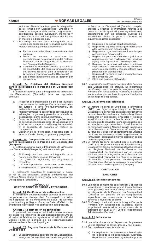 El Peruano482008                                              NORMAS LEGALES                                     Lima, lun...